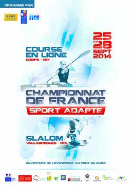 Championnat de France canoë-kayak adapté