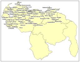 CENTROS URBANOS DE VENEZUELA