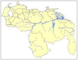 CUERPOS DE AGUA DE VENEZUELA