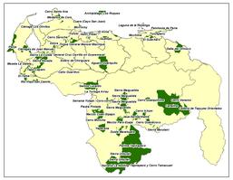 ÁREAS PROTEGIDAS DE VENEZUELA