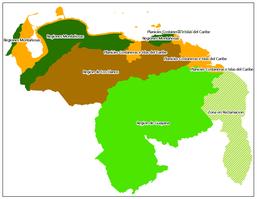 REGIONES NATURALES DE VENEZUELA