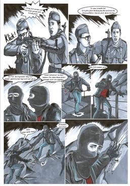 Comic Todesstreifen, Graphic- Novel Todesstreifen