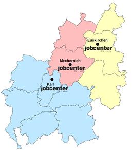 Standorte und Öffnungszeiten Jobcenter Kreis Euskirchen
