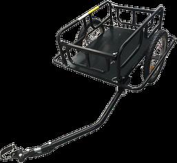Der Fahrradanhänger für EV250 ist bis zu 50kg beladbar.