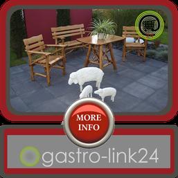 Rustikale outdoor Sitzecke