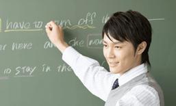 黒板を使った授業