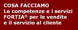 FORTIA - Competenze e servizi per vendite e servizio clienti