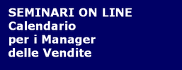 Seminari on line - Manager Vendite