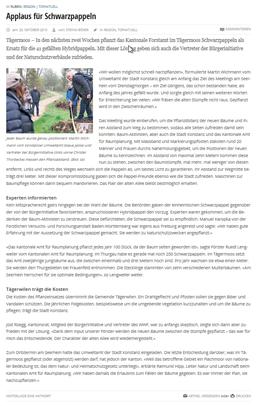 Kreuzlinger Zeitung - 23.10.2015