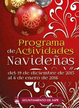 Programa de Navidad en Aspe