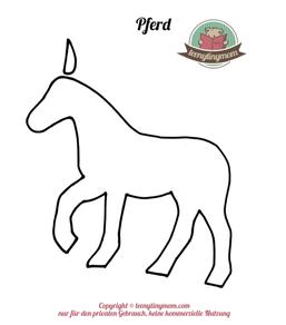 Spielbuch Fühlbuch Quiet book Nähanleitung Pferd