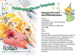 Rezept für Spargel mit Lachs und Dillhollandaise | Spargelhof Bolhuis