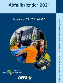 AWU-Abfallkalender 2021