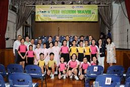 香港での式典には21の学校と9団体が参加