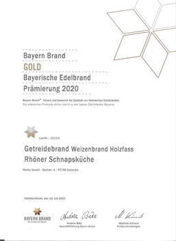 Bayern-Brand 2020