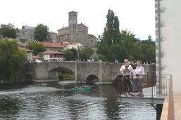 Clisson le pont de la vallée