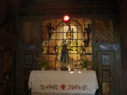 Lorettokapelle mit Statue der Mutter Gottes