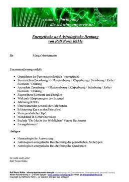Übersicht 4-Komponenten-Auswertung