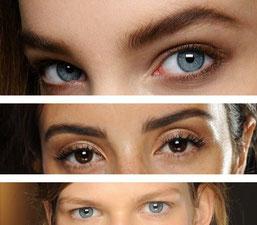 Natürliche Augenbrauen - Entfernung Permanent Make-up