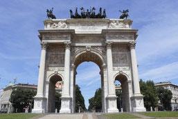 OmoGirando il Parco Sempione - L'Arco della Pace