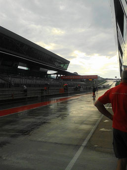 Traumwetter am Redbull Ring...