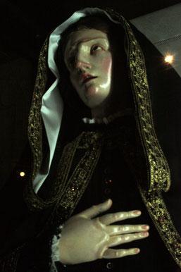 Statue der Schmerzensmutter in Taranto