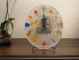 間宮香織 「ガラス時計」