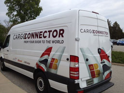 IAG Cargo operates vans of this kind in the U.S. for providing its Cargo Connector Service  /  source: IAG Cargo