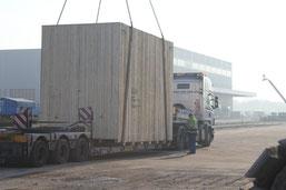 Kran, Intra-Logistik, Intralogistik, Kranverladung, Lagerlogistik, Transportmanagement