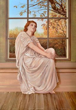 Autumn, Painting by Irma Fiorentini - Fiorentini Design, Classical Murals, Wallpaper Borders