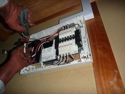 ホームインスペクション 電気調査