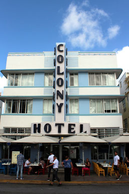 Colony Hotel Ocean Drive Miami Beach, Florida, USA