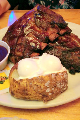 Spareribs, Texas Roadhouse, Miami, Florida, USA