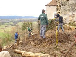Élaboration des jardins en 2013