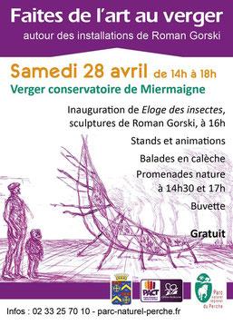 Atelier participatif avec Roman Gorski - 16 au 28 avril - parc naturel régional du Perche