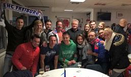 Sportmanagementstudenten zu Besuch bei den Freiburger Wölfen