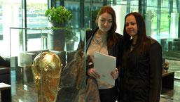 Exkursion mit Tiefgang, Studenten aus dem Studiengang Sport- und Eventmanagement zu Besuch bei der FIFA