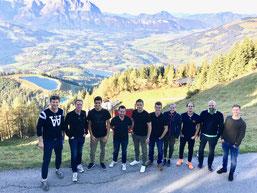 """Die MBA-Studenten """"Internationales Sportmarketing"""" vom Bodensee Campus waren auf Studienreise in Österreich"""
