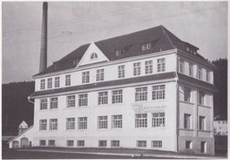 Die Fabrik in den 50er