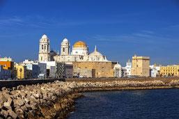 Skyline von Cádiz