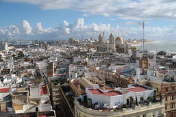 Cádiz mit 134 Türmen