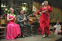 Flamenco-Tablao in Cádiz