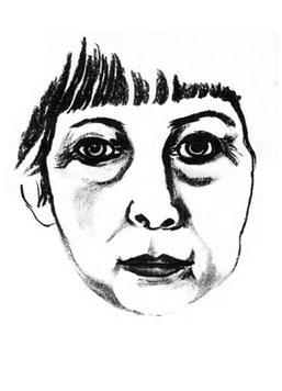 margrit schweicher, selbstportrait