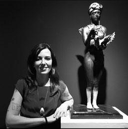 Francesca dalla Benetta, sculpteur italien basé au Mexique