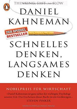 Cover des Buchs Schnelles Denken, langsames Denken von Daniel Kahneman.
