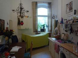 Berliner Zimmer als Küche