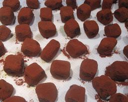 Recette truffes ganache enrobées chocolat