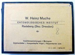 Werner Heinz Muche, Firmen-Etikett für seine Produkte, um 1953