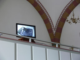 Falken-TV in der Lutherkirche (Foto: Tanja Frischgesell)