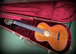 20世紀初頭に作られた19世紀型ギター